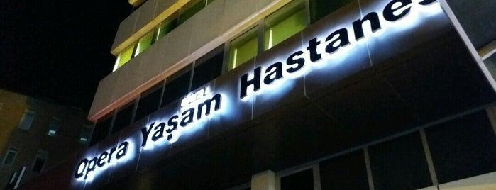 Özel Opera Yaşam Hastanesi is one of Yasemin Arzu'nun Kaydettiği Mekanlar.