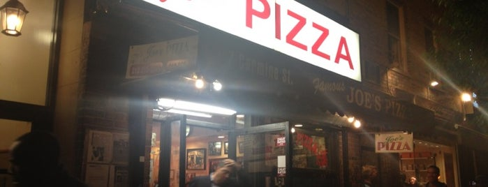Joe's Pizza is one of Places.
