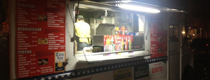 Taco King Truck is one of carritos en NyC.