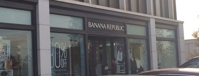 Banana Republic is one of Stores.