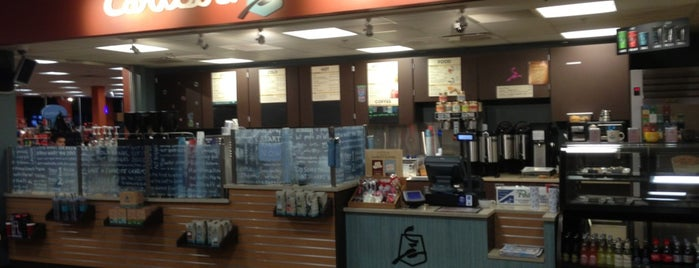 Caribou Coffee is one of b ~ check !.
