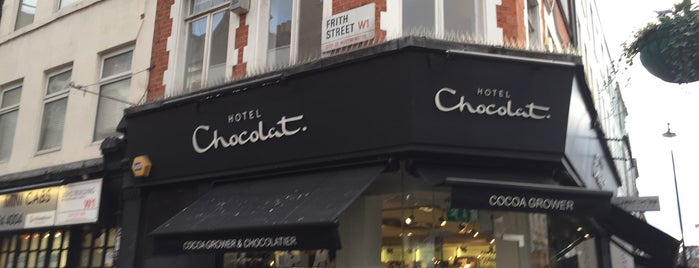 Hotel Chocolat is one of London shopping..