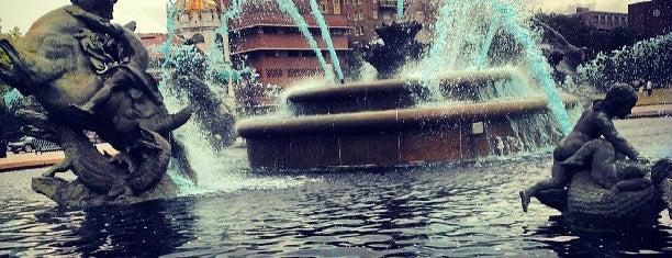 JC Nichols Memorial Fountain is one of Kansas City.