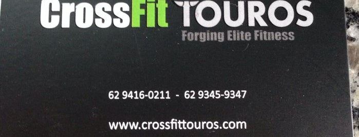 CrossFit Touros is one of Amigos da Força.