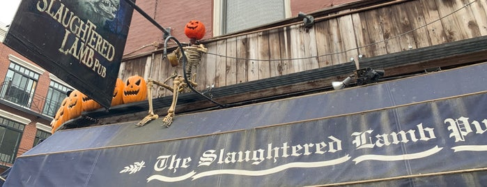 The Slaughtered Lamb is one of Food Mania - Manhattan.