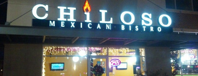 Chiloso Mexican Bistro is one of 🌮.