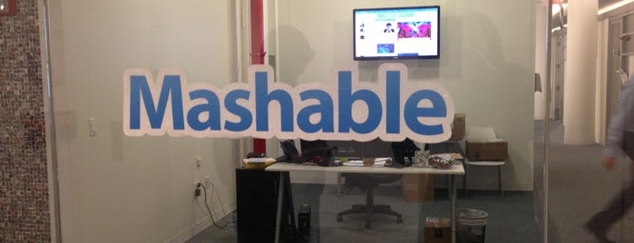 Mashable HQ is one of Silicon Alley, NYC.