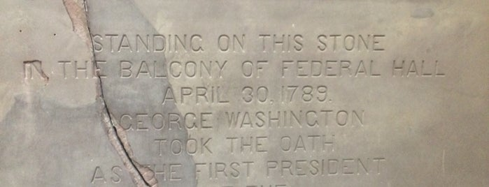 Federal Hall National Memorial is one of New York Museums.