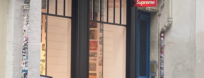 Supreme is one of Paris.
