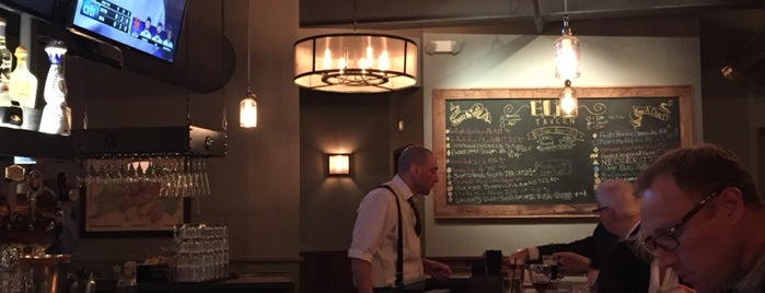 Eli's Tavern is one of Tempat yang Disukai Melda.