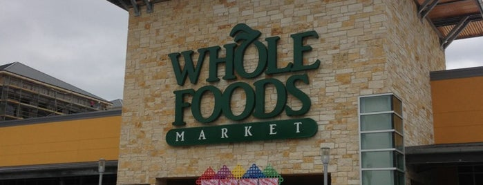 Whole Foods Market is one of When in Houston.