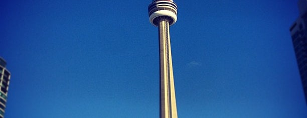 CN Tower is one of Toronto with David.