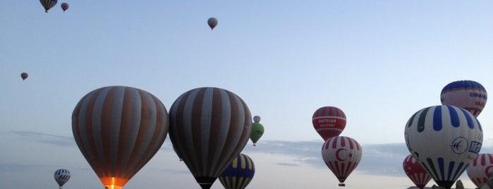 Kapadokya Kaya Balloons Take-0ff is one of Turkey Recs.
