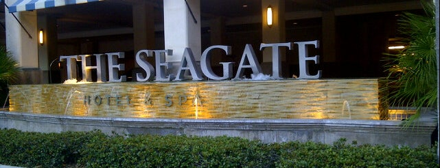 The Seagate Hotel & Spa is one of Lieux qui ont plu à Mike.