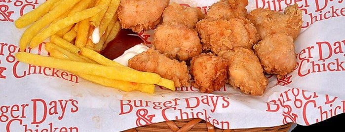 Burger Days is one of สถานที่ที่ Ömür ถูกใจ.