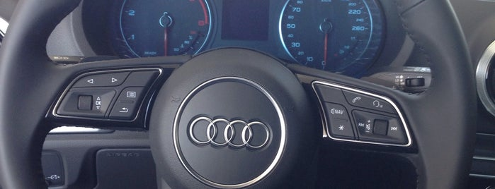 Audi Miram Otomotiv is one of Kerim'in Beğendiği Mekanlar.