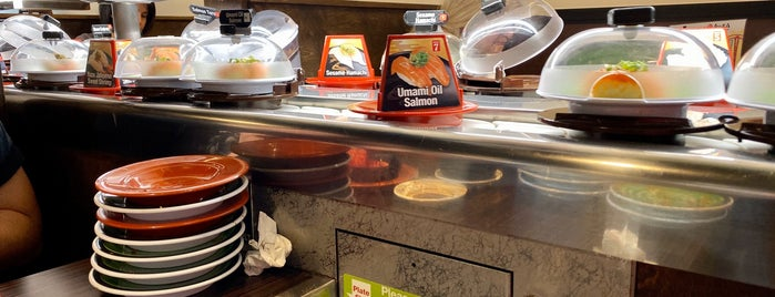 Kura Revolving Sushi Bar is one of places to try.
