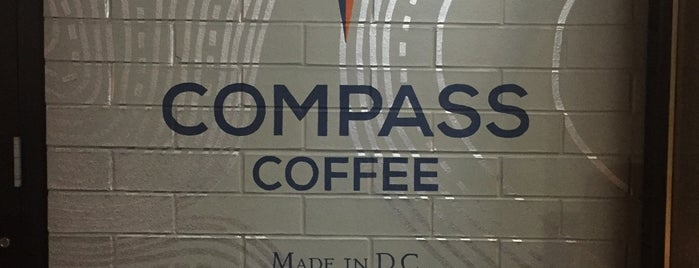 Compass Coffee is one of Locais curtidos por Danyel.