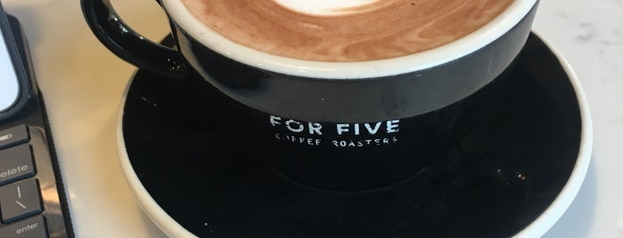 For Five Coffee Roasters is one of Long Island.