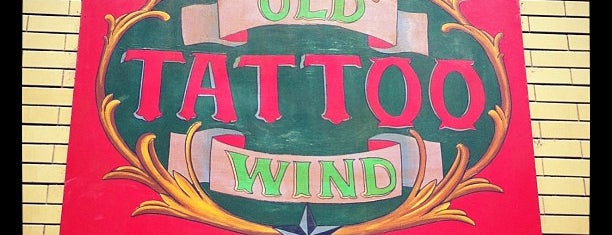 Old Wind Tattoo is one of Rafael'in Beğendiği Mekanlar.