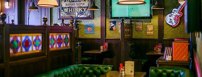 Ирландский Паб Финнеганс / Irish Pub Finnegan`s is one of Slava 님이 좋아한 장소.