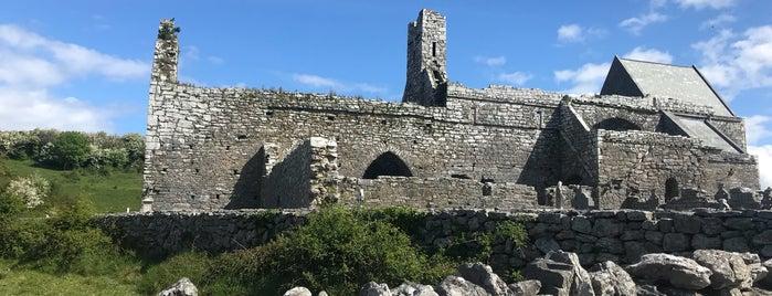 Corcomroe Abbey is one of ireland.