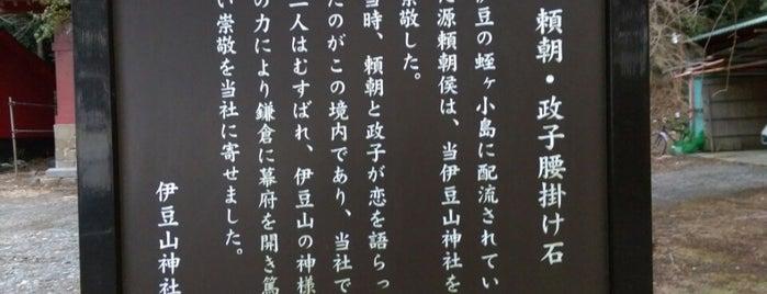頼朝・政子の腰掛け石 is one of 伊豆.