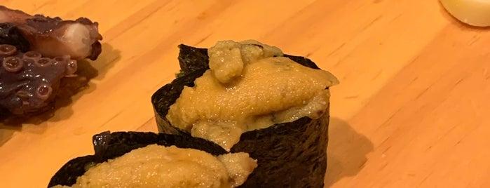 김수사 (金寿司) is one of seafood.