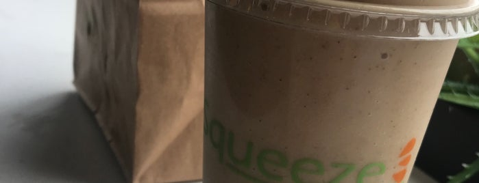 Squeeze Juicery is one of Locais curtidos por Michelle.