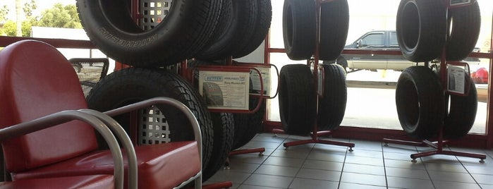Discount Tire is one of place I been.