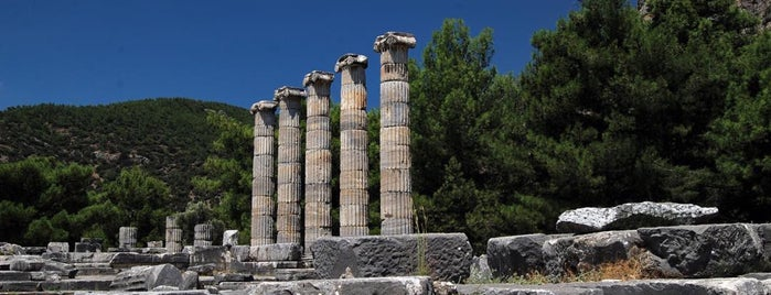 Priene Antik Kenti is one of Lugares favoritos de Yusuf.