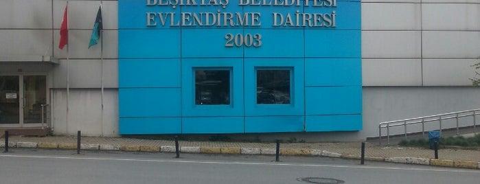 Beşiktaş Evlendirme Dairesi is one of Tempat yang Disukai Aysecikss.