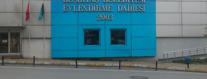 Beşiktaş Evlendirme Dairesi is one of Posti che sono piaciuti a Aysecikss.