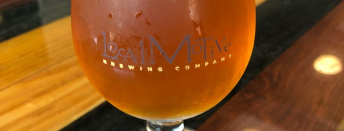 Local Motive Brewery is one of Breweries or Bust 3.