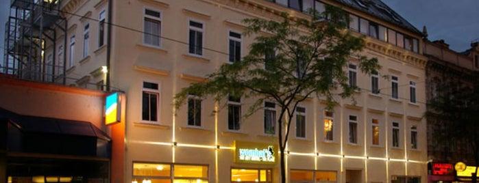 Wombat's City Hostel is one of Vienna.