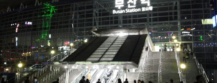 Busan Stn. - KTX/Korail is one of My Korea-Japan Trip'13.