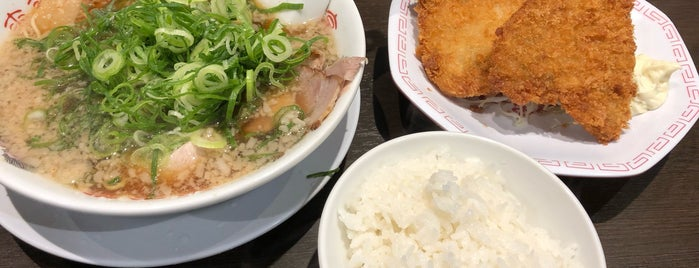 ラーメン来来亭 相武台店 is one of Locais curtidos por Jed.