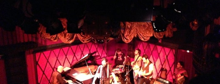 Rockwood Music Hall, Stage 2 is one of Dana's Favorite New York Spots.
