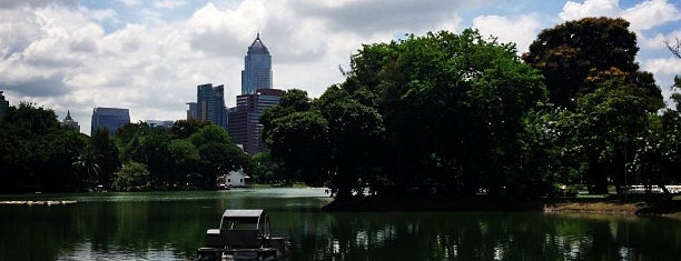 Lumphini Park Lake is one of Stuff to do in Bangkok.