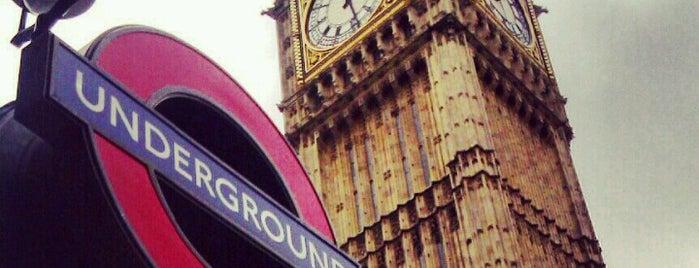 Elizabeth Tower (Big Ben) is one of Funky London.