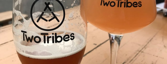 Two Tribes Brewhouse & Taproom is one of New London Openings 2018.