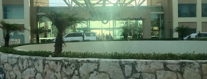 The Westin Lagunamar Ocean Resort Villas & Spa, Cancun is one of Lau 님이 좋아한 장소.