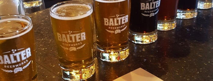 Balter Beerworks is one of Knoxville area.