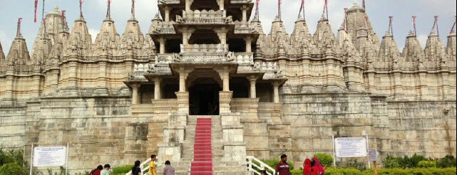Shri Ranakpur Tirth / Adinath Jain Temple is one of Recs from Friends.