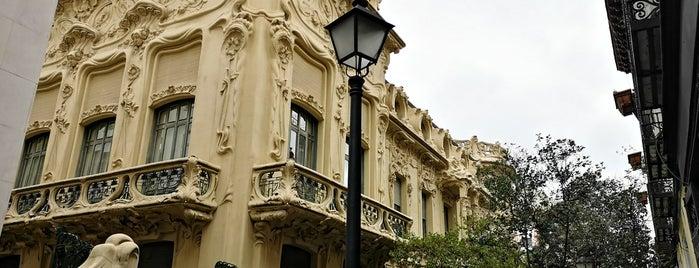 Sociedad General de Autores y Editores (SGAE) is one of Madrid to-do.