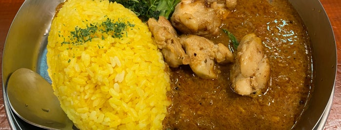 Dhalsim Curry is one of TOKYO-TOYO-CURRY 4.