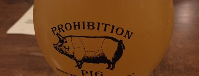 Prohibition Pig Brewery is one of My must visit brewery list.