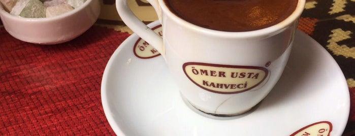 Kahveci Ömer Usta is one of Tempat yang Disukai Mehmet.