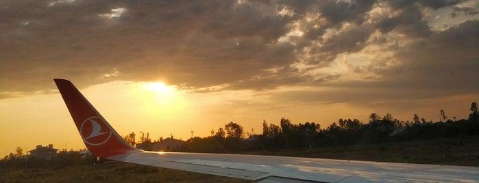 Ferit Melen Havalimanı  VIP Şeref Salonu VIP Lounge is one of Halil G.'ın Beğendiği Mekanlar.