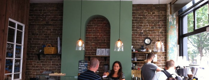 The Corner One is one of Speciality Coffee Shops Part 3 (London).
